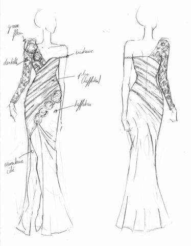 Plain Model For Fashion Illustration