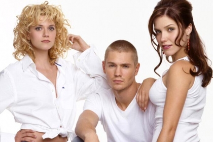 Hilarie Burton and Chad Michael Murray and Sophia Bush