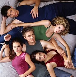 James Lafferty and Hilarie Burton and Chad Michael Murray and Bethany joy Galeotti and Sophia Bush